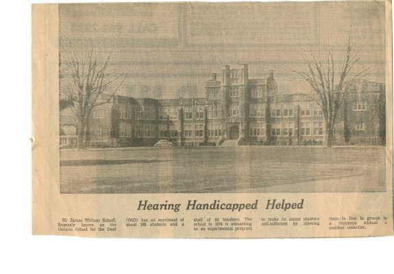 Hearing Handicapped Helped