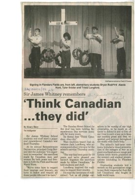 """""""Think Canadian...they did"""""""
