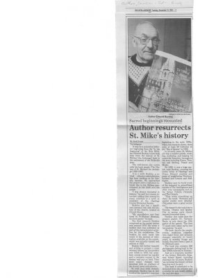 Author Resurrects St Mikes History
