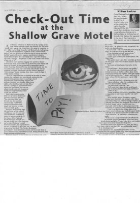 Checkout Time at the Shallow Grave Motel