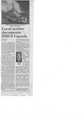 Local Author Documents HMCS Uganda
