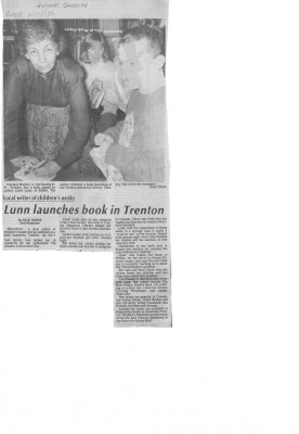 Lunn Launches Book in Trenton