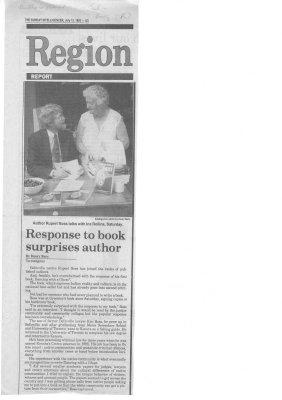 Response to Book Surprises Author