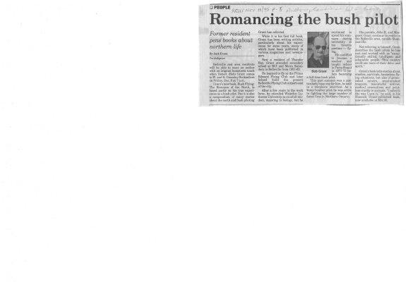 Romancing the Bush Pilot