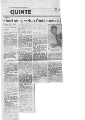 Short Story Writer Finds Success