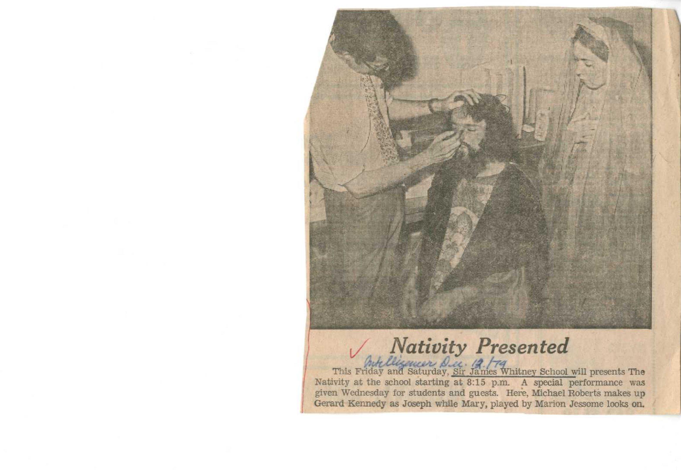 Nativity presented