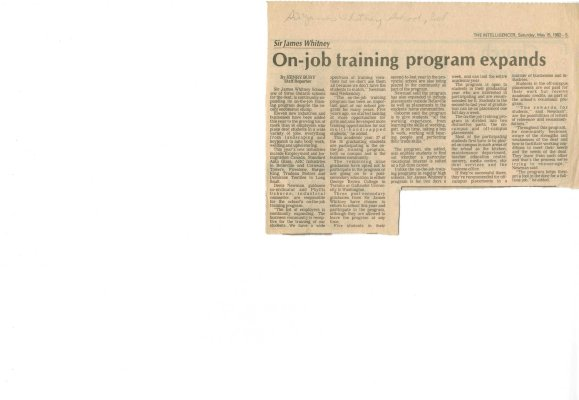 On-job training program expands