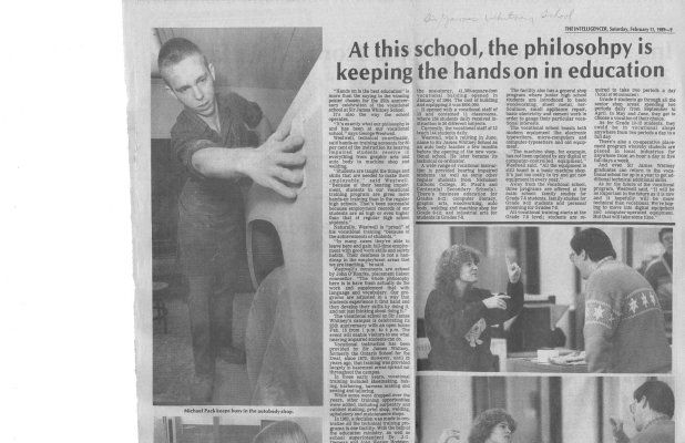At this school, the philosohpy [sic] is keeping the hands on in education
