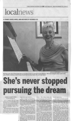 She's never stopped pursuing the dream