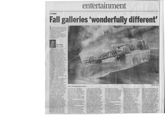 "Fall galleries ""wonderfully different"""