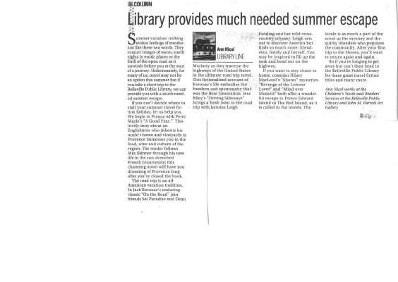 Library provides much needed summer escape