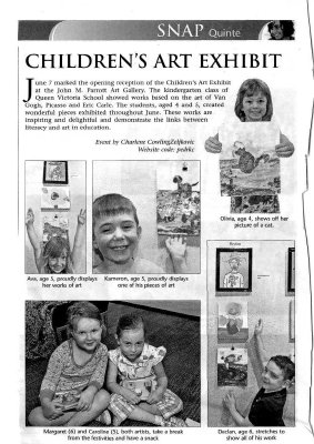 Children's Art Exhibit