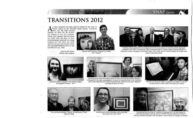 Transitions 2012