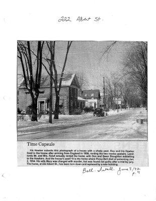 Time Capsule: 222 Albert street