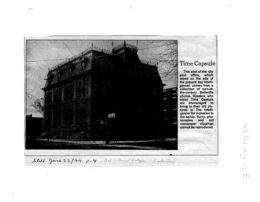 Time capsule: 45 Bridge St. E.