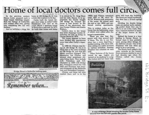 Home of local doctors comes full circle