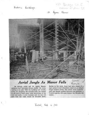 Aerial Jungle as Manor falls