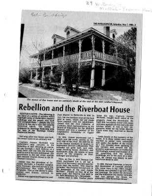Rebellion and Riverboat House