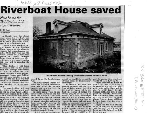 Riverboat House saved