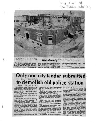 Only one city tender submitted to demolish old police station