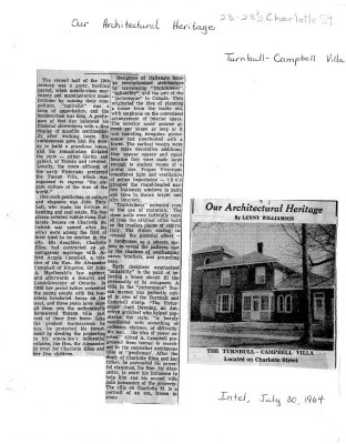 Our Architectural Heritage: Turnball-Campbell Villa