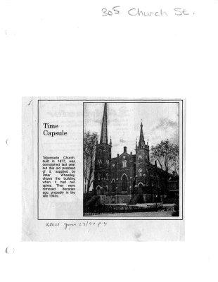 Time Capsule: 305 Church st.