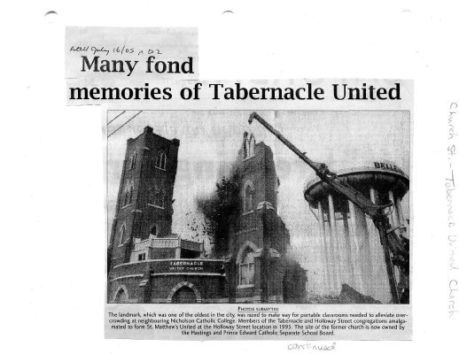 Many fond memories of Tabernacle United