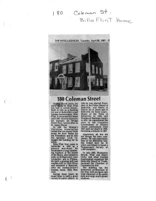 180 Coleman Street