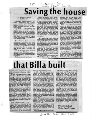 Saving the house that Billa built