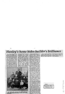 Hanley's home hides builder's brilliance