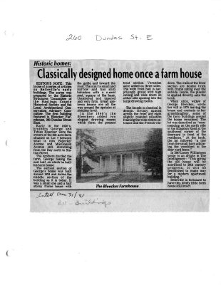 Classically designed home once a farm house