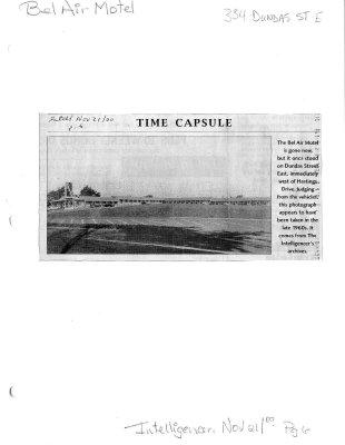 Time capsule: Bel Air Motel