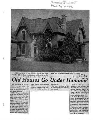 Old houses go under hammer