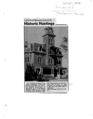 Historic Hastings: Carmen House