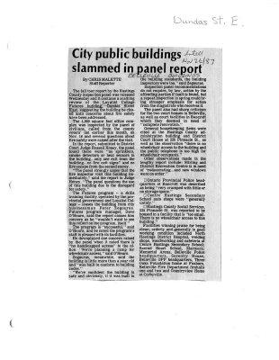 City public buildings slammed in panel report