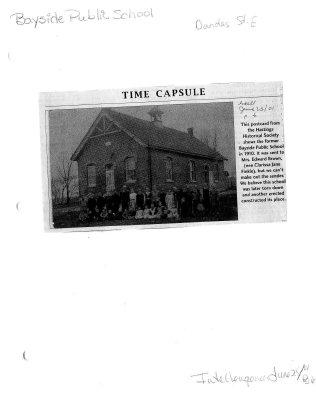 Time capsule: Bayside Public School
