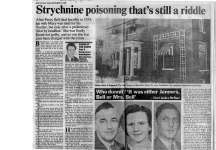 Strychnine Poisoning That's Still a Riddle