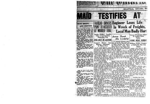 Maid Testifies at Trial of Vermilyea