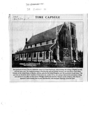 Time capsule: Christ Church