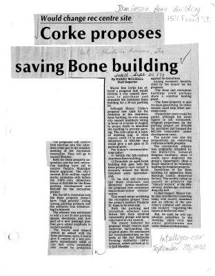 Saving Bone building