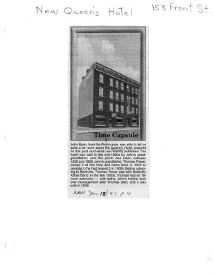 Time Capsule: New Queen's Hotel
