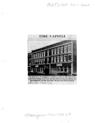 Time capsule: Cablevue building