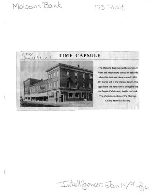 Time capsule: 175 Front Street