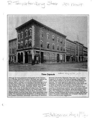 Time capsule: R. Templeton Drug Store