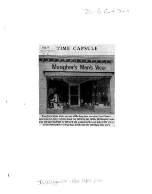 Time capsule: 231 B Front Street