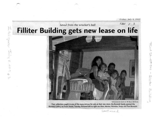 Filliter building gets new lease on life