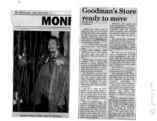 Goodman's store ready to move