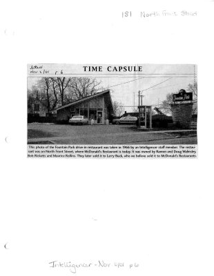 Time capsule: 181 North Front St.