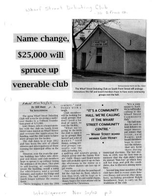 Name change, $25,000 will spruce up venerable club