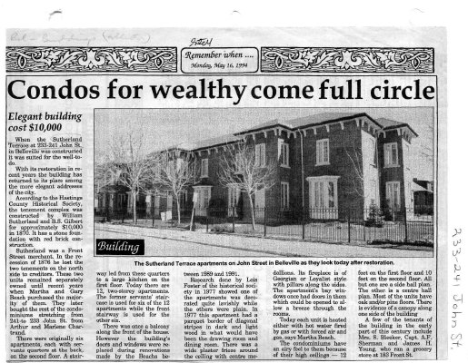 Condos for wealthy come full circle